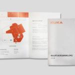 Hauptversammlung - Ansicht Programm- und Infoflyer Innenseite