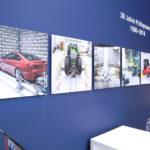 RENK TS: Detailausschnitt Wandabwicklung mit Bildtafeln