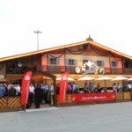 Kreissparkasse Augsburg: Beachflags und Banner auf dem Mitarbeiterfest