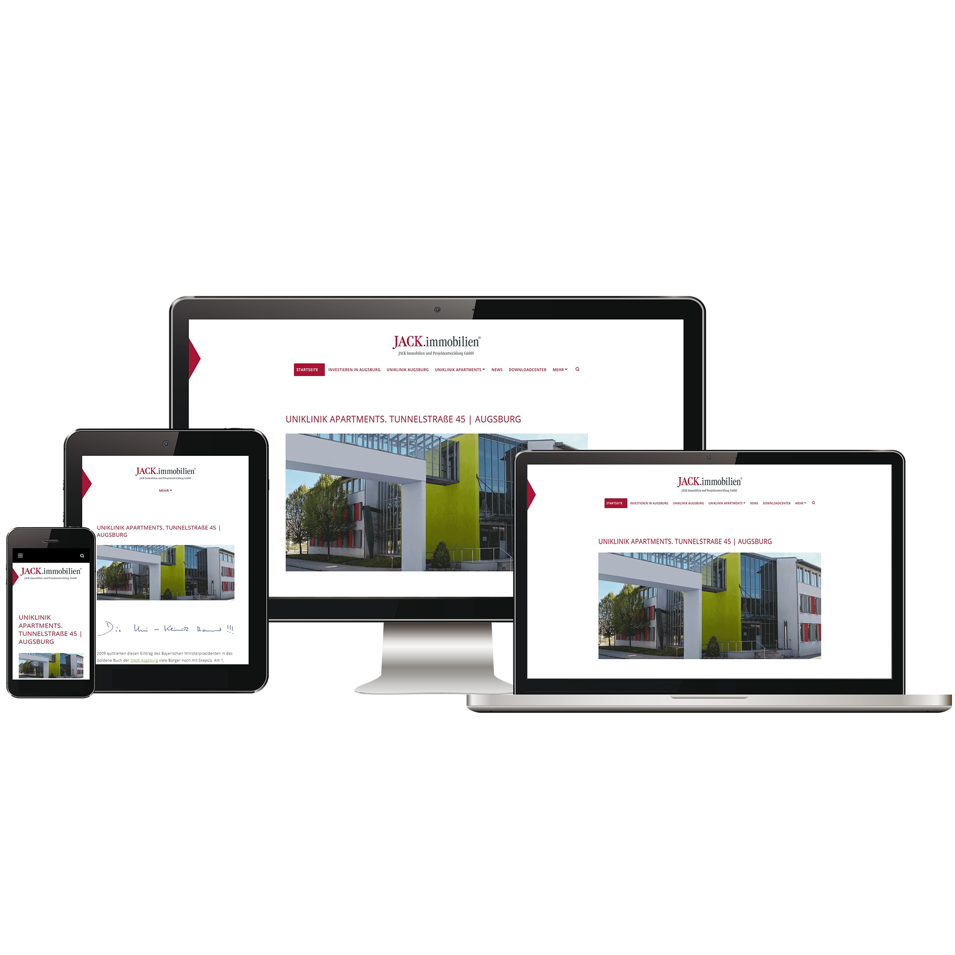 Eest Projects Jack Real Estate Project Website 2018