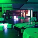Eventplanung - Gesamtansicht Eventmodule Foyer