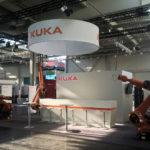 Messeauftritt / Gesamtansicht Messestand KUKA Roboter