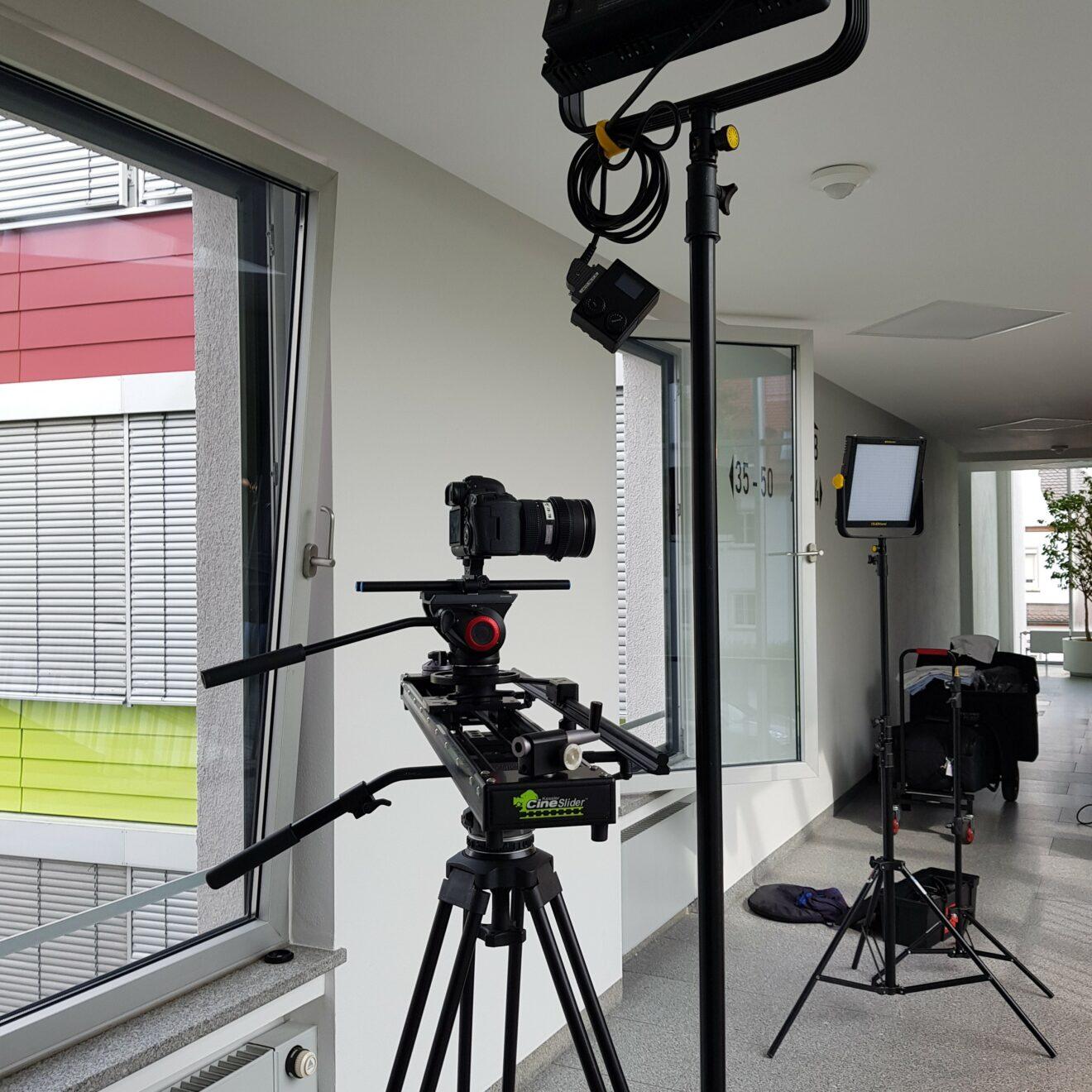 Filmdreh für Projektdokumetation der JACK.immobilien