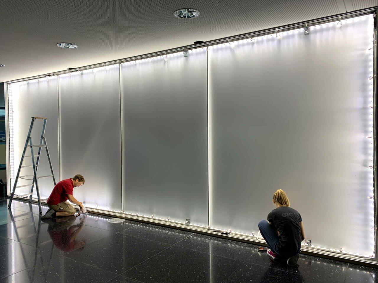 IHK Schwaben - LED Montage