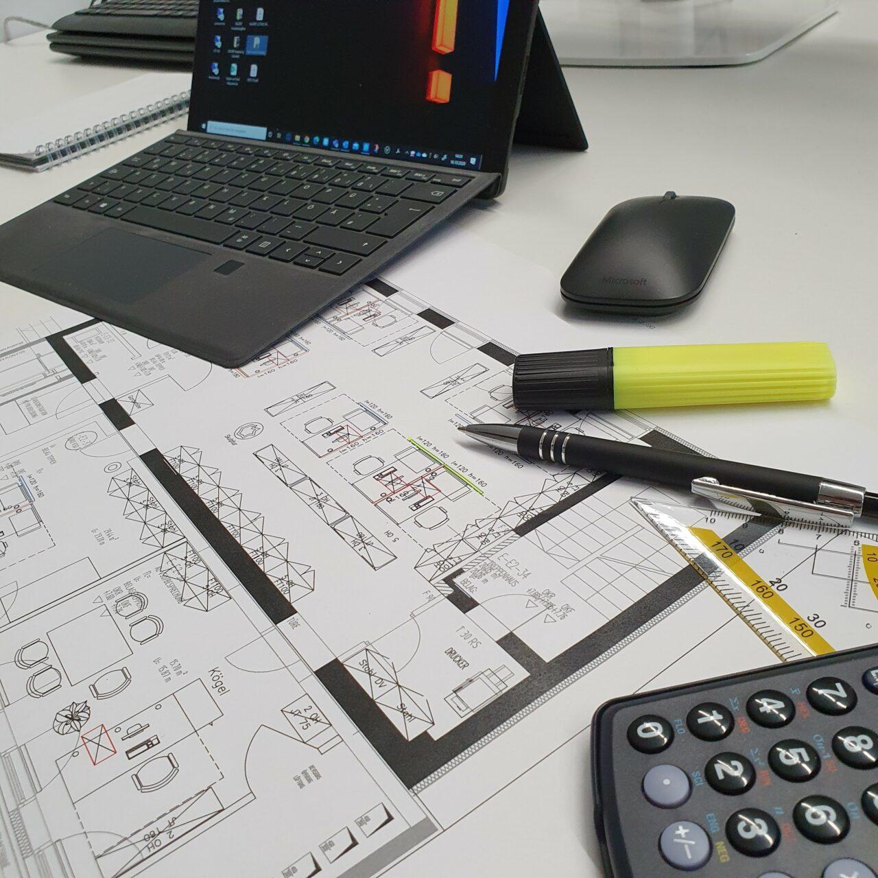 Corona Trennwände für große Büros